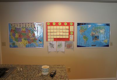 Homeschool wall 2