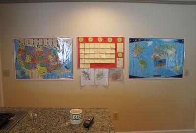 Homeschool wall 2