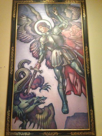 Michaelmas painting mfa