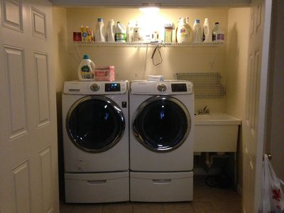 New laundry set up