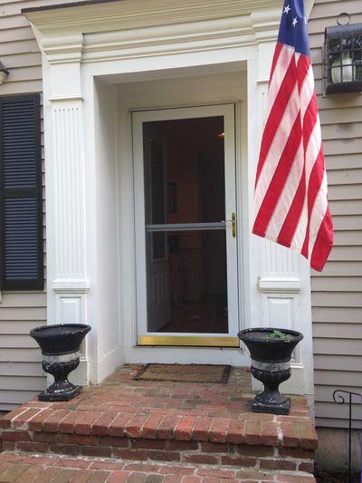 Front door planters 1