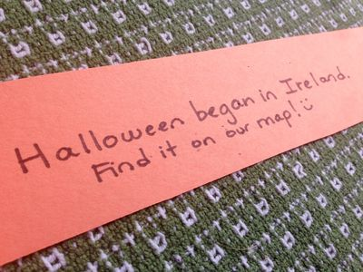 Halloween paper chain 2
