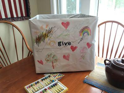 Donations box 2