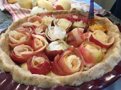 Rose pie 9
