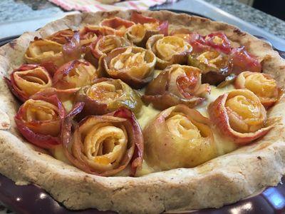 Rose pie 11