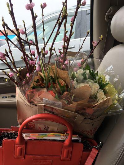 Easter flower shopping