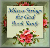 Mittenstrings for god button