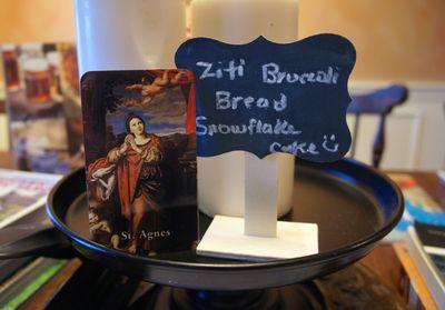 St. agnes card