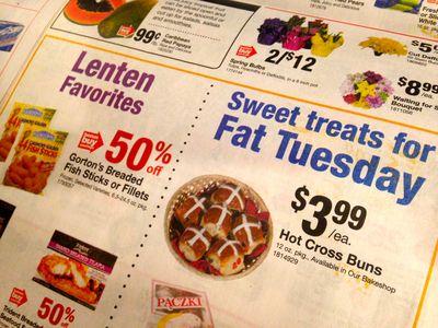 Lent specials in circular