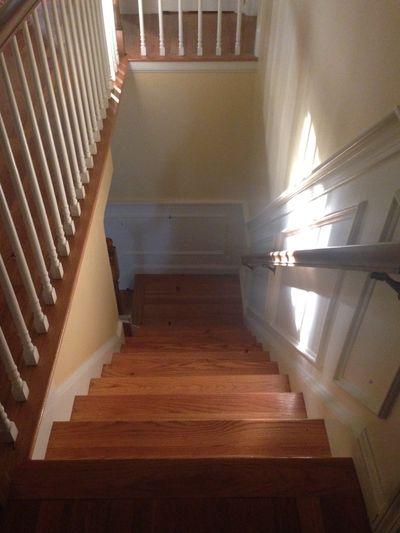 Ww sun in stairwell