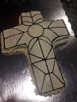 Confirmation cake 2