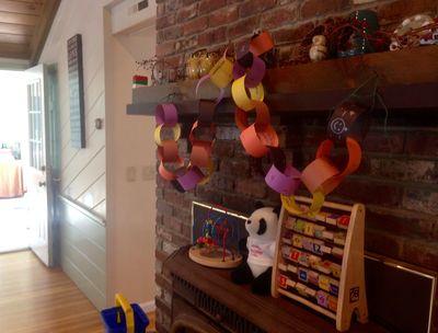 Halloween paper chain 4