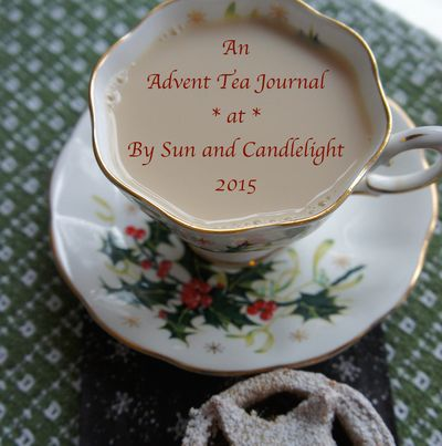 Advent tea button 2015