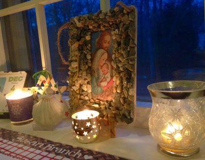 Advent grotto 1