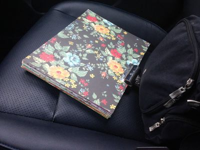 Planner in car