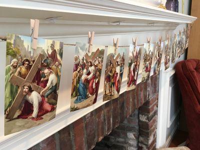 Lenten altar 5