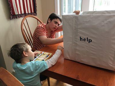 Donations box 1