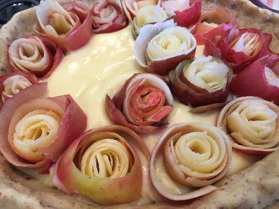 Rose pie 8