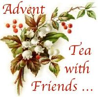 Advent tea with friends