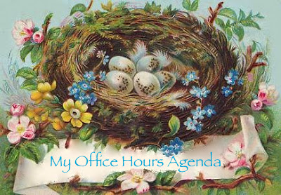 Nest with Office Hours Agenda