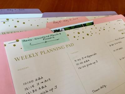 Planning folders 1