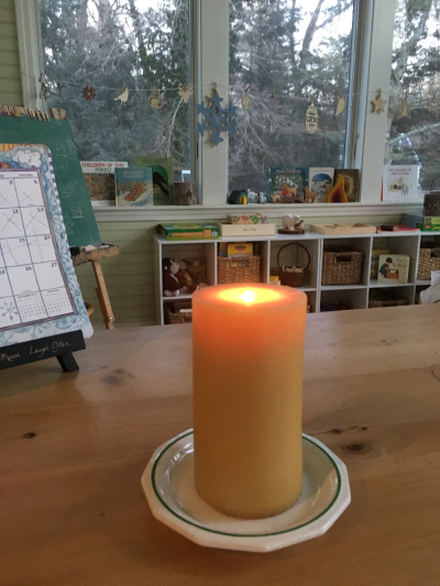 Candle for stories