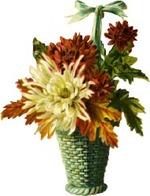Chrysanthemumbasket