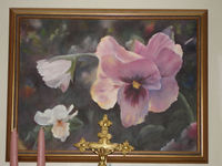 Pansy_painting
